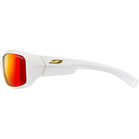 Julbo Rookie Spectron 3CF Zonnebril 8-12 Jaar Kinderen, shiny white-multilayer red
